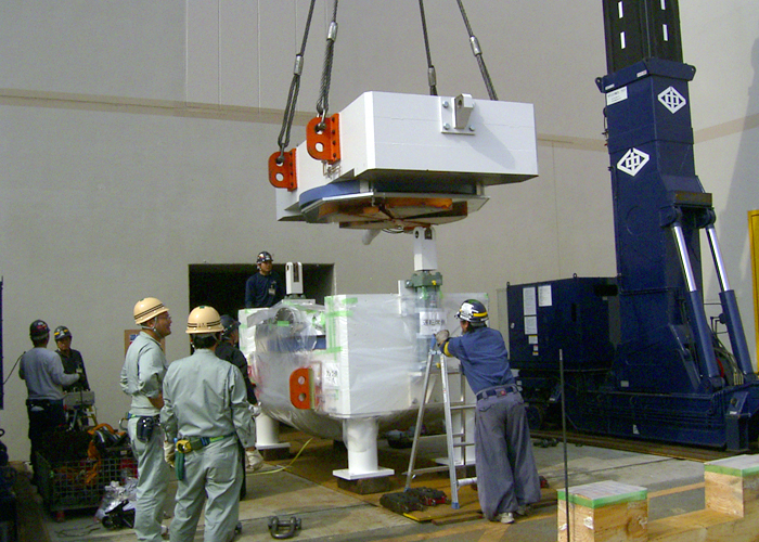 Kyoto University Research Reactor Institute Boron neutron capture therapy system installation